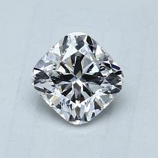 オススメの石No.2:0.90カラットのクッションカットダイヤモンド