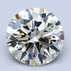 4.43 Carat 圓形 Diamond 理想 K VS1