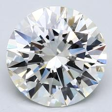 Recommended Stone #3: 3.17-Carat Round Cut Diamond