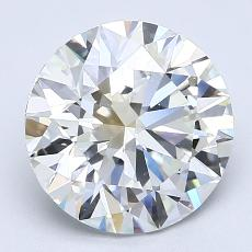 Recommended Stone #4: 2.80-Carat Round Cut Diamond