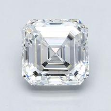 1.81-Carat Asscher Diamond Very Good D VS2