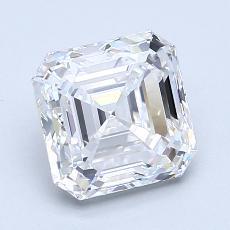 Recommended Stone #3: 2.11-Carat Asscher Cut Diamond