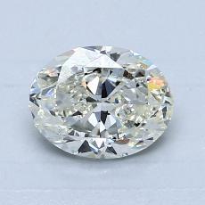 1.06-Carat Oval Diamond Very Good K SI2