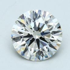 Pierre cible: Diamant taille ronde 4,08 carat