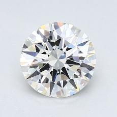 1.04-Carat Round Diamond Ideal G VVS2