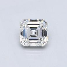 Recommended Stone #4: 0.60-Carat Asscher Cut Diamond