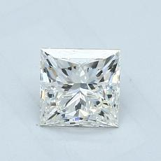 1.04 Carat 公主方形 Diamond Astor 理想 I VVS1