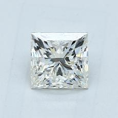 Recommended Stone #3: 1.00-Carat Princess Cut Diamond