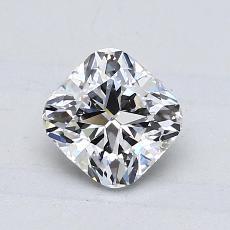 1.03 Carat 垫形 Diamond Astor 理想 D VS2