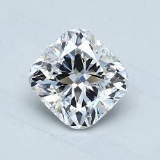 オススメの石No.3:1.07カラットのクッションカットダイヤモンド