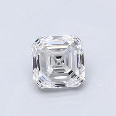 所選擇的鑽石: 0.75  克拉上丁方形鑽石