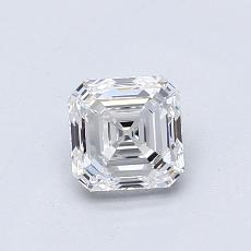 Recommended Stone #2: 0.75-Carat Asscher Cut Diamond