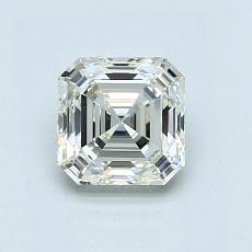 Recommended Stone #1: 1.05-Carat Asscher Cut Diamond