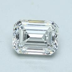 Recommended Stone #1: 1.01-Carat Emerald Cut Diamond