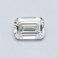 Recommended Stone #3: 0.60-Carat Emerald Cut Diamond