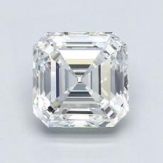 Recommended Stone #1: 1.70-Carat Asscher Cut Diamond