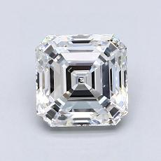 推薦鑽石 #2: 1.51  克拉上丁方形鑽石