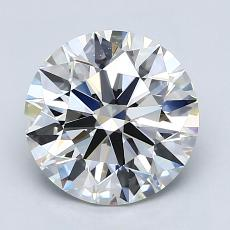 Recommended Stone #4: 2.40-Carat Round Cut