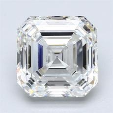 推薦鑽石 #4: 3.01 Carat Asscher Cut