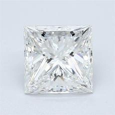目标宝石:1.51 克拉公主方形钻石