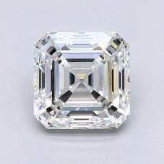 Recommended Stone #4: 1.74-Carat Asscher Cut Diamond