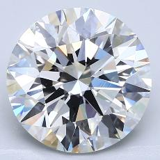 Recommended Stone #2: 5.26-Carat Round Cut Diamond