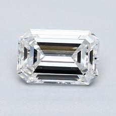Recommended Stone #1: 1.13-Carat Emerald Cut Diamond