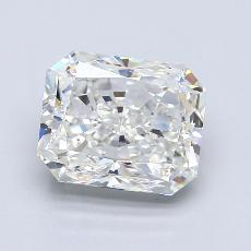 Target Stone: 3,02-Carat Radiant Cut Diamond