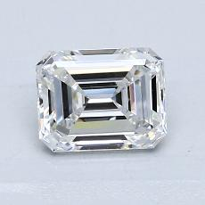 Recommended Stone #3: 1.08-Carat Emerald Cut Diamond