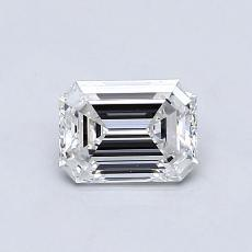 Recommended Stone #3: 0.75-Carat Emerald Cut Diamond