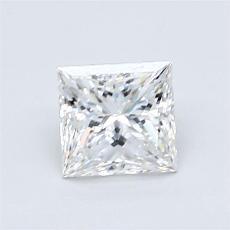 Pierre recommandée n°4: Diamant taille princesse 1,02 carats