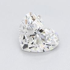 Pierre recommandée n°3: Diamant taille cœur 0,95carat
