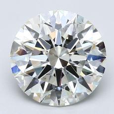 推荐宝石 3:4.05克拉圆形切割钻石