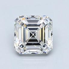 Recommended Stone #4: 1,42-Carat Asscher Cut Diamond