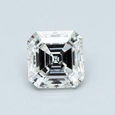 Pierre recommandée n°4: Diamant taille Asscher 0,80 carat