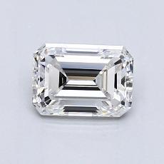 Recommended Stone #3: 0,88-Carat Emerald Cut Diamond