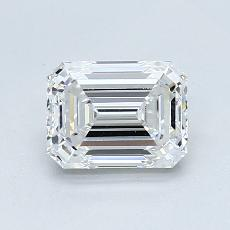 Recommended Stone #2: 1.01-Carat Emerald Cut Diamond