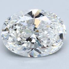 推薦鑽石 #3: 3.51 克拉橢圓形切割鑽石