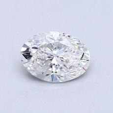 Recommended Stone #4: 0.72-Carat Oval Cut Diamond