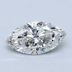 2.06 Carat 榄尖形 Diamond 非常好 F SI2