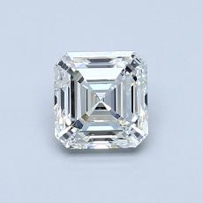 Recommended Stone #3: 0.77-Carat Asscher Cut Diamond