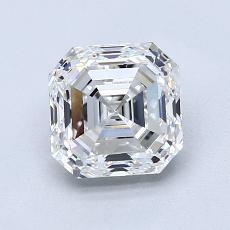 1.52-Carat Asscher Diamond Very Good E VS1