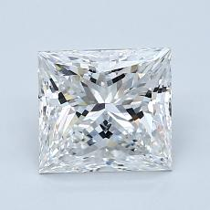 Recommended Stone #2: 1,70-Carat Princess Cut Diamond