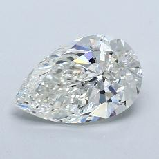 Recommended Stone #1: 2.01-Carat Pear Cut Diamond