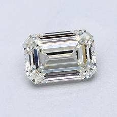 0.90-Carat Emerald Diamond Very Good J VVS1