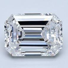 Recommended Stone #3: 2.71-Carat Emerald Cut Diamond