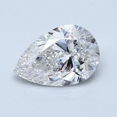 1,01-Carat Pear Diamond Very Good F SI2