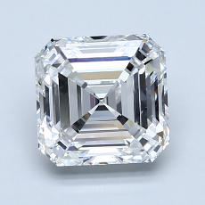 1.80-Carat Asscher Diamond Very Good E VVS1