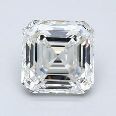 Recommended Stone #2: 1.70-Carat Asscher Cut Diamond