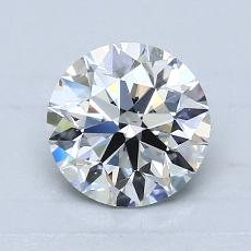 1.13-Carat Round Diamond Ideal F VS2